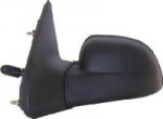 Renault Clio [90-93] Complete Cable Adjust Wing Mirror Unit - Black